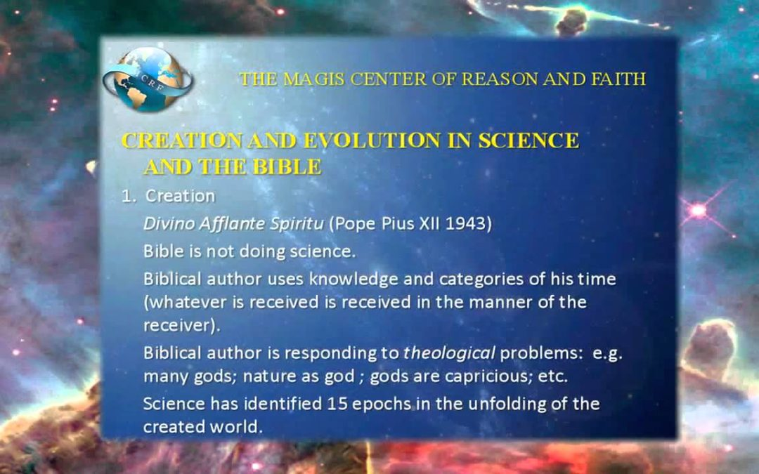 Creation According to Physics and the Bible – Is there Really a Contradiction?
