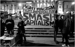 Students Protest Capitalism