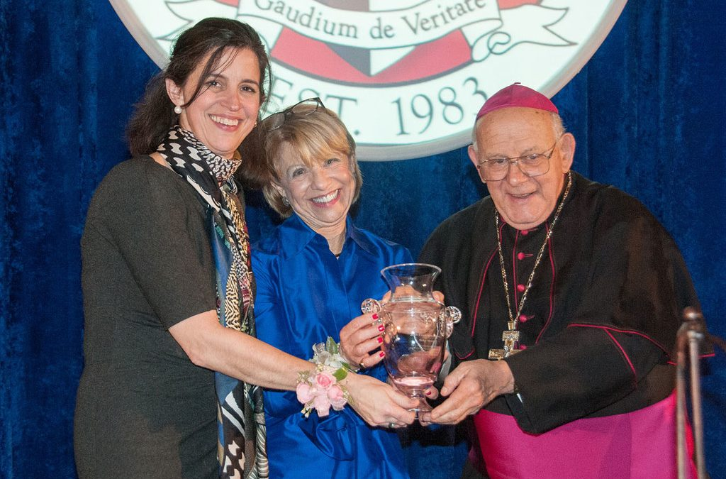 Fr. Spitzer Honored by Catholic Distance University