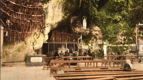 Lourdes Grotto, site of many miracles