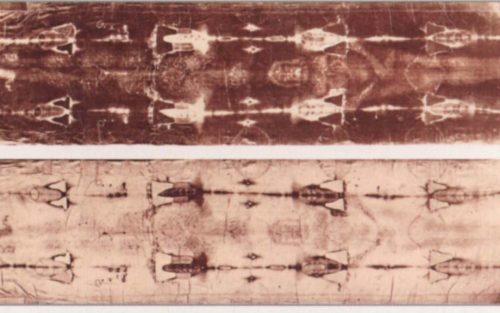image on the shroud of turin positive and negative